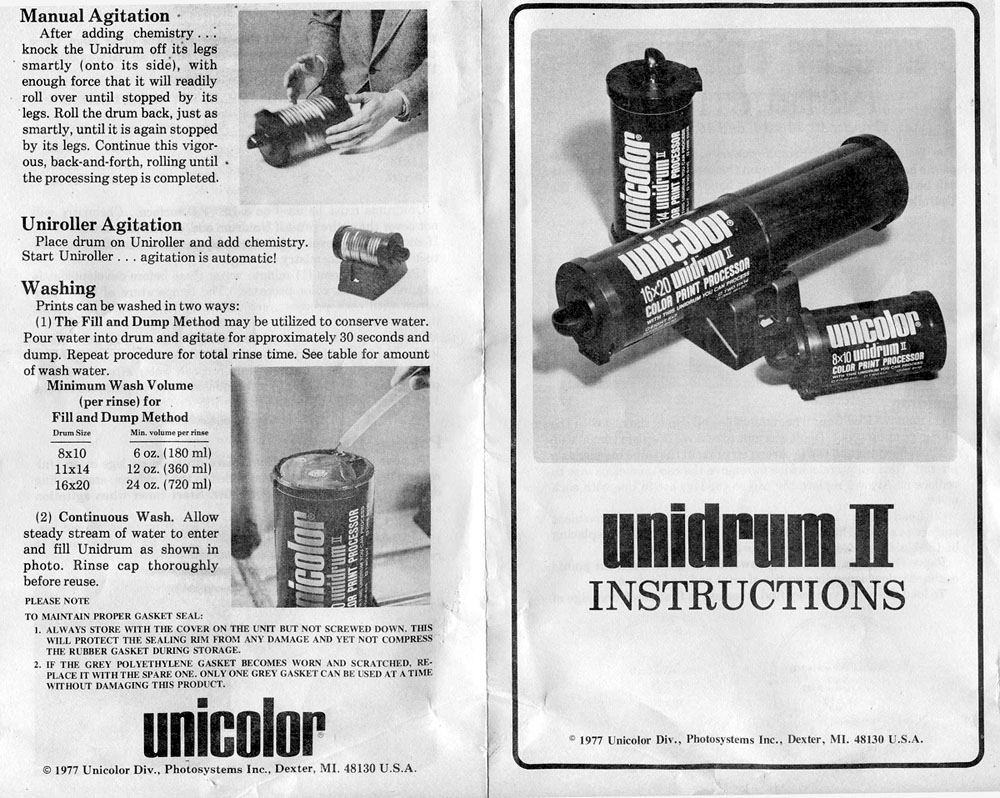Unicolor Instructions p03-Cover